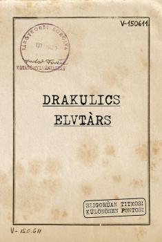 Drakulics Elvtárs (2018)